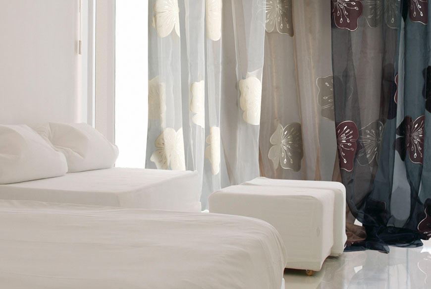 Arredotenda caravaggio for Tende lino moderne